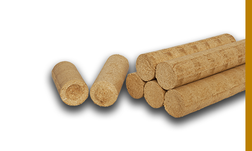 Larch Wood Briquettes