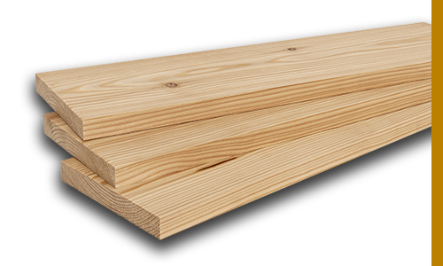 Larch Planed Boards