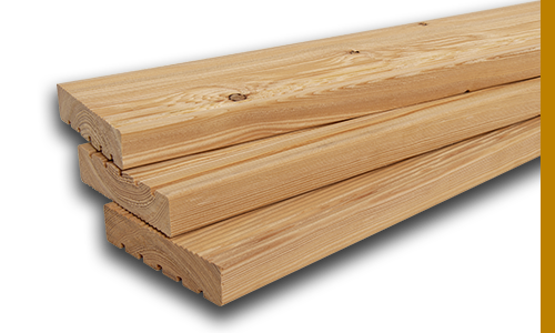 Larch Terrace Planks