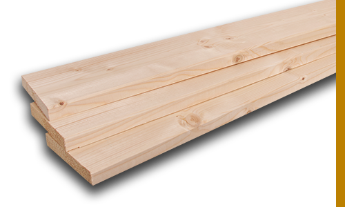 Planed Spruce Boards